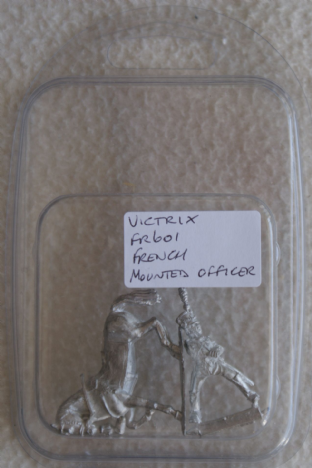Victrix 28mm FR601 French Infantry Mounted Officer